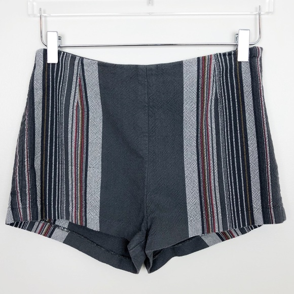 b556b06cf15 Free People Shorts | Newman Hi Rise Striped Boho 2 | Poshmark